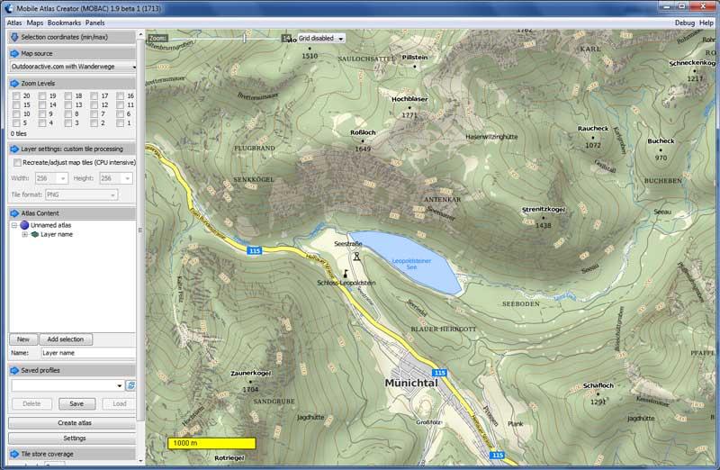 mappa italia oruxmaps